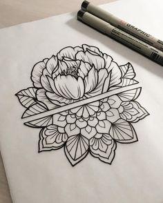 2,030 vind-ik-leuks, 28 reacties - Dominique Holmes (@domholmestattoo) op Instagram: '🌷 #tattoo #tattoodesign #tattooart #art #design #drawing #sketch #penandink #handdrawn #custom…'