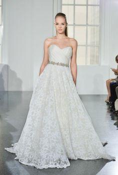I like this one.  Editor's Pick: Romona Keveza Wedding Dresses