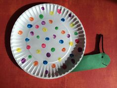 Fingerprint Snail Craft for Kids || The Chirping Moms