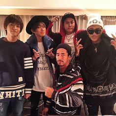 Iwata Takanori & Yamashita Kenjiro & Elly & Naoto & Naoki Sandaime J Soul Brothers