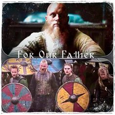 How the little piggies will grunt, when they hear how the old boar suffered. The Vikings Cast, Vikings Season 4, Vikings Show, Vikings Tv Series, Ragnar Lothbrook, King Ragnar Lothbrok, Sons Of Ragnar, Lagertha, Viking Pictures
