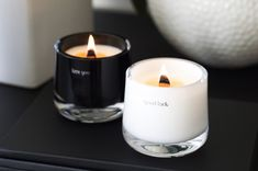 luxury candles message candles