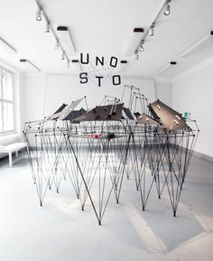 Jewelry City exhibition by UNOSTO, a group that promotes new Czech jewelry