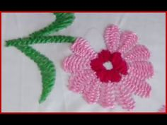 Hand Embroidery Certain Stitch kashmiri Tanka - YouTube