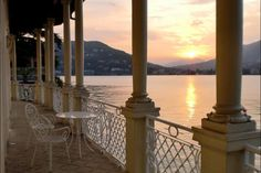 Talking Point: The house sits opposite the region's most glamorous and storied resort, Villa d'Este.Contact: Lake Como Sotheby's International Realty, 011-39-03-1538-8888