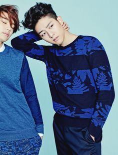[CF] CNBLUE Minhyuk & Jungshin – The Class S/S 2015