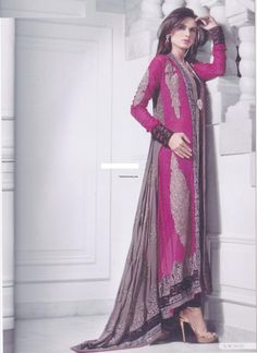 Party Dresses For Girls By Pakistani Designers