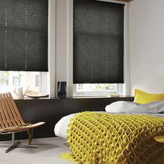 Laat u inspireren door Luxaflex® raamdecoratie. Plissé Shades