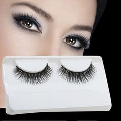 GRACEFUL Natural Long Beauty Dense A Pair False Eyelashes Attractive Black Fibre Eyes Lashes for Party…