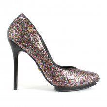 Scarpin Glitter Disco Carmen Steffens