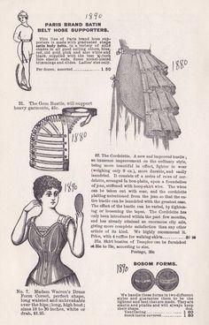 Проект: Естественная форма платье 1878/1879