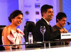 Deepika ,karan and aamir