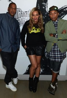 Pharrell Celebrates 10th Anniversary of Billionaire Boys Club with Jay-Z, Beyonce and Others