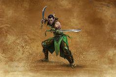 Sylvan Blade Dancer | Might & Magic® Heroes 7