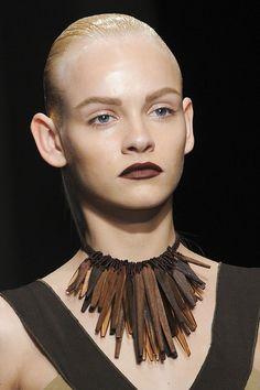 Donna Karan at New York Fashion Week Spring 2012 - Details Runway Photos