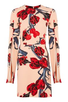 20 Gorgeous Dresses That Are Perfect for Easter Red Floral Dress, Long Sleeve Floral Dress, Floral Dresses, Short Long Dresses, Short Sleeve Dresses, Dress Long, Chic Outfits, Fashion Outfits, Women's Fashion
