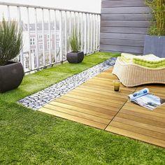Schön Wunderschöne Terrasse Mit Künstlichem Gras