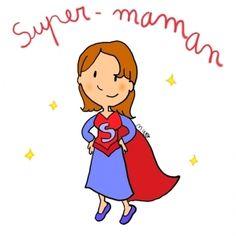 Je suis une super maman ! (Relié) | My mom is a comic