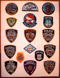 Rare New York City Police Patch Display Car Badges, Police Badges, Lights And Sirens, Fire Badge, Firefighter Paramedic, Law Enforcement Badges, Department Of Corrections, Police Detective, I Love Nyc