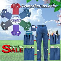 a05ca86277f Aviator Scrubs - Scrubs with Patented Pockets and Features - Aviator  Clothing Company Medical Uniforms,