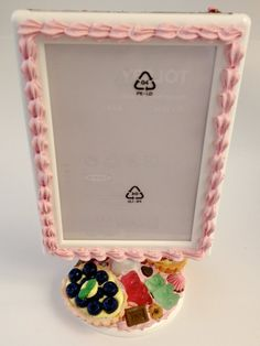 Sweet Deco Photo Frame Ready To Ship by claysweetdeco on Etsy