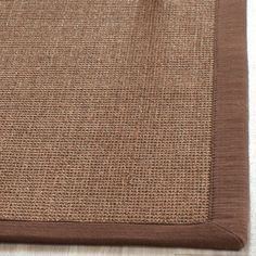 Product Details This casual area rug is made using innately soft and durable natural fiber yarns, with subtle, organic patterns created by a dense sisal weave. Room decor takes on a warm, homey aspect with the distinctive look and comforting feel of this natural fiber floor covering. Construction: Power Loomed Fiber Content: Natural Fiber Style: Traditional