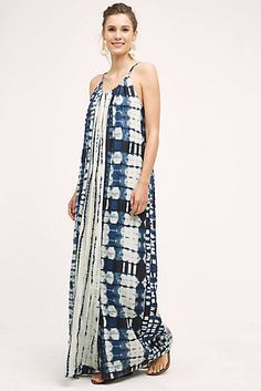 This looks so comfy.  and I love blue and white!  Sky Country Maxi Dress
