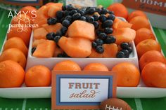 auburn tailgating party ideas - apples and blackberries for georgia?