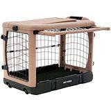 The Super Dog Crate - Plastic Folding Dog Crate - 1800PetMeds