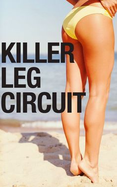Get those legs in shape with this killer lower body workout!
