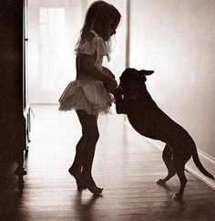 oh how my dogs were the best when i was young and i would dress them up and make them dance like this. bless their souls!