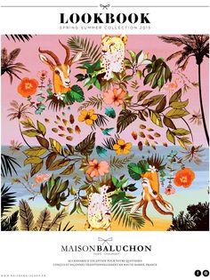 Look Book Collection Spring Summer 2015 Maison Baluchon