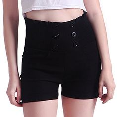 HDE Women's Vintage High Waisted Sailor Shorts Front Butt... https://www.amazon.com/dp/B00YHY428Q/ref=cm_sw_r_pi_dp_x_CJCjybSPWC3W0