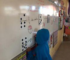 fracciones Math Class, Elementary Math, Math Activities, Ideas Para, Montessori, Photo Wall, Classroom, Education, School