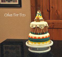 Teepee Cake - Cake Decorating Community - Cakes We Bake