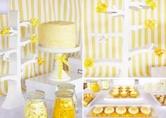 ray of sunshine dessert feature via amy atlas. Bridal shower idea? I do love lemon. @Megan Ting