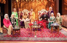 ASF's production of a Tableau Vivant, a Living Picture of a Moroccan Jewish ceremony which takes place during the week preceding a wedding.