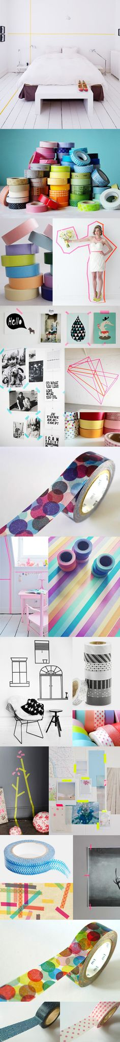ideas for uses for Washi tape!
