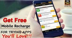 Get free mobile recharge for trying apps you'll Love #AppMoney. #AppMoneyOffers #ReferAppMoney Download & Install Here: http://bit.ly/1C8FPEc