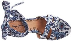 Pepe Jeans London WAS-292 B PLS10018 580 Damen Sandalen, Blau (sailor), EU 37: Amazon.de: Schuhe & Handtaschen