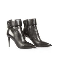 Oxygen | Giuseppe Zanotti Nappa Grande Black Pointed Boot #GiuseppeZanotti #boots #black #shoes #fashion #style #trend #shopping #boutique