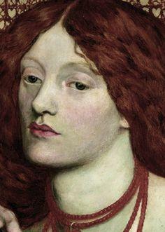 Lizzie Siddal by Dante Gabriel Rossetti John Everett Millais, Dante Gabriel Rossetti, William Morris, Elizabeth Siddal, Pre Raphaelite Brotherhood, Edward Burne Jones, Medieval, Aesthetic Movement, Portraits