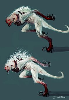 concept art DmC: Devil May Cry Konzeptkunst , Monster Concept Art, Alien Concept Art, Concept Art World, Creature Concept Art, Fantasy Monster, Monster Art, Creature Design, Snow Monster, Alien Creatures