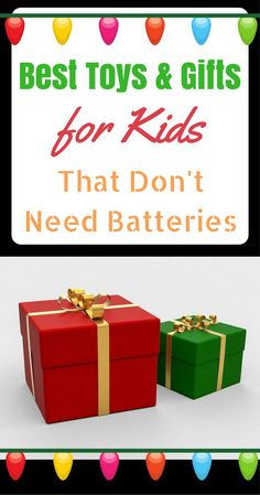 This collection of the best toys and games are all electronic and battery-free! These toys that don't need batteries foster imagination and creativity. Holiday Gift Guide, Holiday Fun, Holiday Gifts, Holiday Decor, Next Gifts, Gifts For Kids, Very Merry Christmas, Christmas And New Year, Adventures By Disney