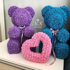 Rose Bear Teddy Beautiful for Women – Valentines Day Gift Ideas Valentines Day Bears, Valentines Day Gifts For Her, Rose Crafts, Flower Crafts, Diy Arts And Crafts, Handmade Crafts, Luxury Flowers, Roses Luxury, Teddy Bear Gifts