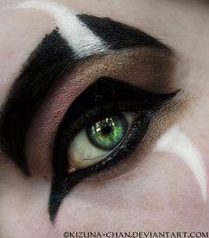Disney's villain Scar inspired makeup
