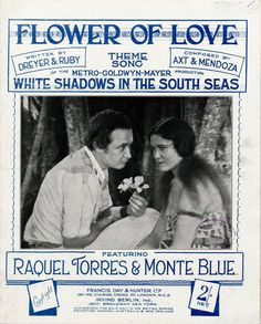 Image result for white shadows in the south seas 1928 poster