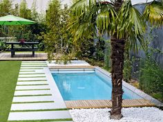 1000 images about jardin on pinterest petite piscine piscine hors sol and small pools. Black Bedroom Furniture Sets. Home Design Ideas