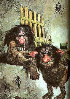 Trolls © Rien Poortvliet - Wil Huygen