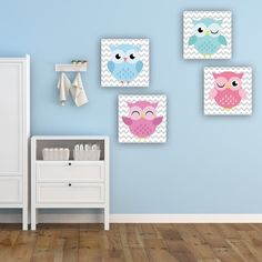 Παιδικοί πίνακες σε καμβά happy owls (σετ 4 πίνακες) Happy Owl, Kids Rugs, Home Decor, Decoration Home, Kid Friendly Rugs, Room Decor, Interior Design, Home Interiors, Nursery Rugs